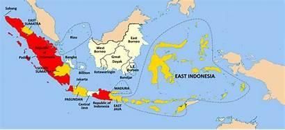 Indonesia States United Map