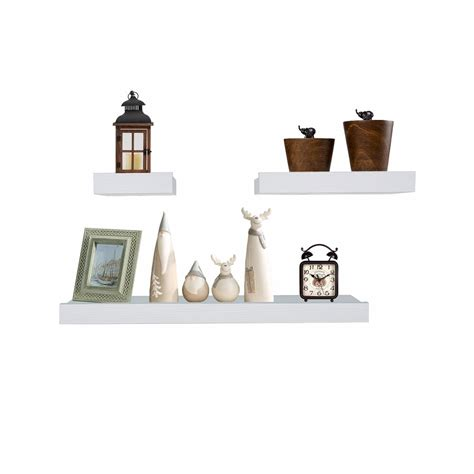 Wall Shelves And Ledges by White Wood Wall Shelves And Ledges Floating Decorative