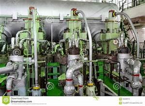 Main Engine Stock Photo