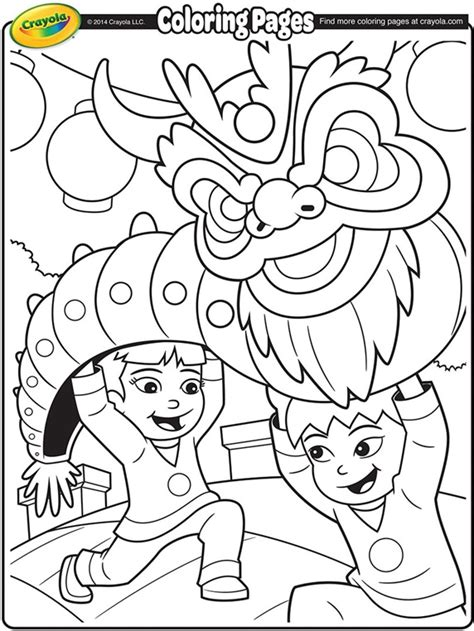 chinese  year dragon coloring page crayolacom