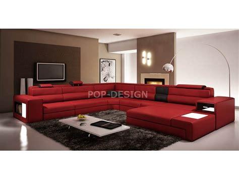 canape relax cuir canapé d 39 angle design en cuir osimo rangements