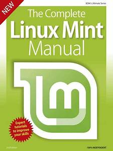 Download Bdm U0026 39 S Series  The Complete Linux Mint Manual 2nd