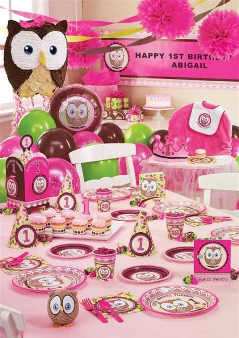 owl birthday party supplies owl themed party ideas