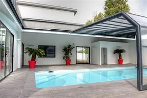 Abri Haut Piscine : abri piscine haut angulaire mural abri piscinebelgique ~ Premium-room.com Idées de Décoration