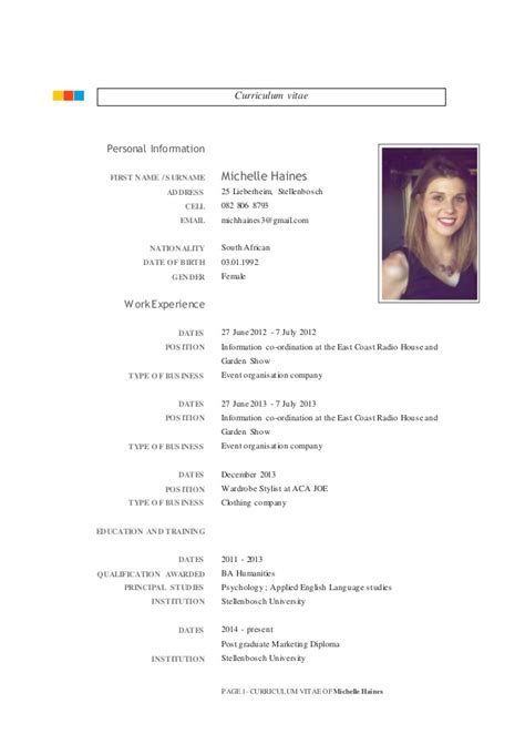Michelle Haines Cv 2015 Word. Application Letter For Government Employment Pdf. Resume Cover Letter Examples Project Coordinator. Letter Of Resignation In Korean. Letter Of Intent Sample Healthcare. Resume Maker Google Play. Mise En Page D 39;un Curriculum Vitae. Curriculum Vitae English Electrical Engineer. Resume Builder Online Free Download