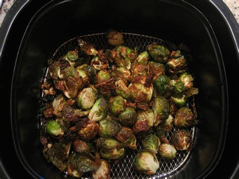 air sprouts airfryer recipes brussels fryer vegetables recipe power epicuricloud fried garlic roasted fight brussel potatoes cooking sprout crispy xl