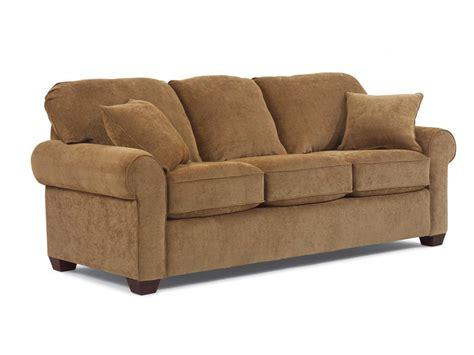 flexsteel living room fabric sleeper 5535 44 rosso furniture gilroy 95020 - Sofa Sleeper Queen