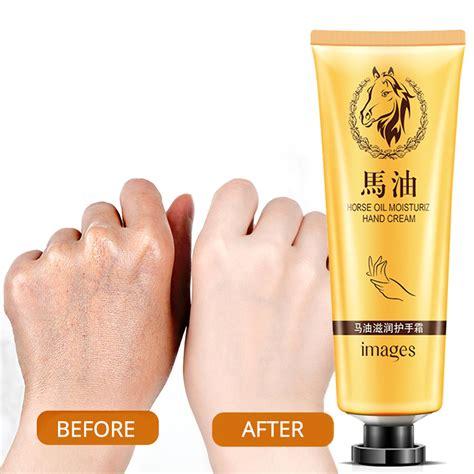 Horse Oil Repair Hand Cream Moisturizing Anti Aging Skin