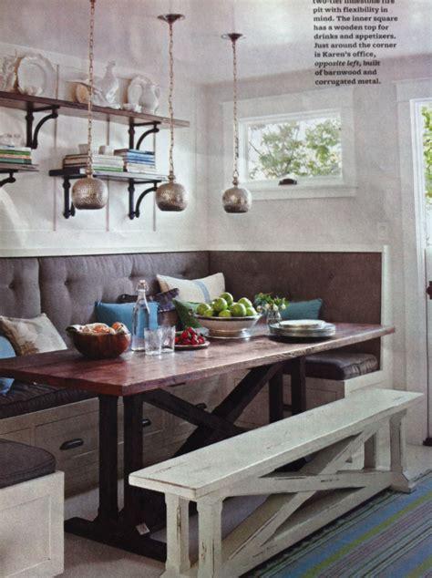built  banquette part  kitchen kitchen booths