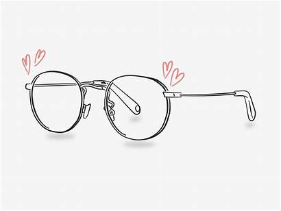 Glasses Story Illustration Draw Workovereasy Easy Circle