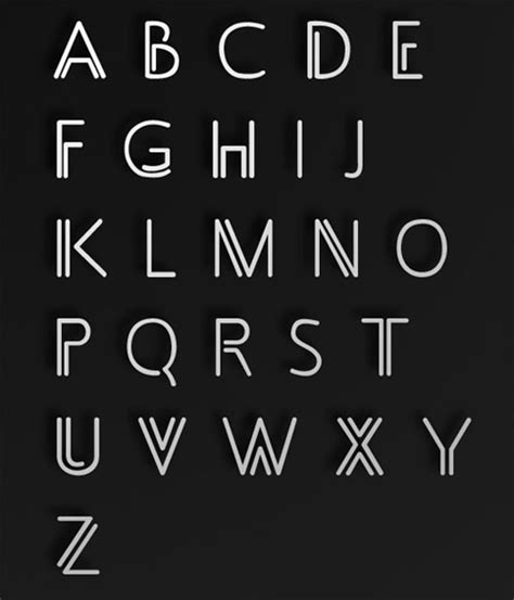 an easy font typography font