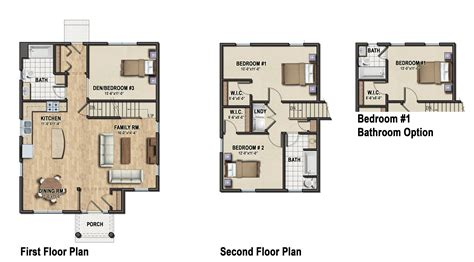family home floor plans patio home designs exterior modern two bedroom house plans