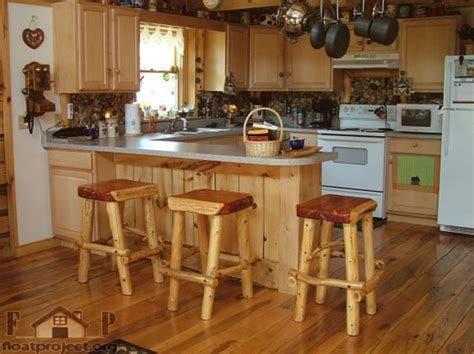 Kitchen interiors ? the kitchen bar table   Home Designs