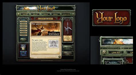 website templates fantasy fantasy web template by karsten on deviantart