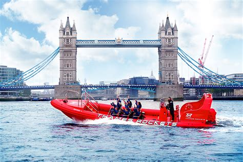 Speed Boat London Thames by Break The Barrier Thames Rockets Speed Boat Ride For Two