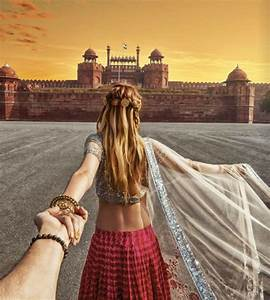 girl who leads photographer boyfriend around the world With wedding photography leads