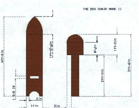 bog chair pattern  medievalizing  encampment
