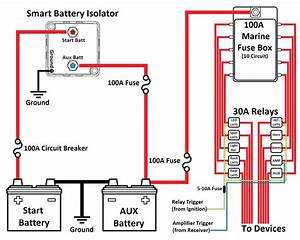 Boat Amplifier Wiring Diagram Sample