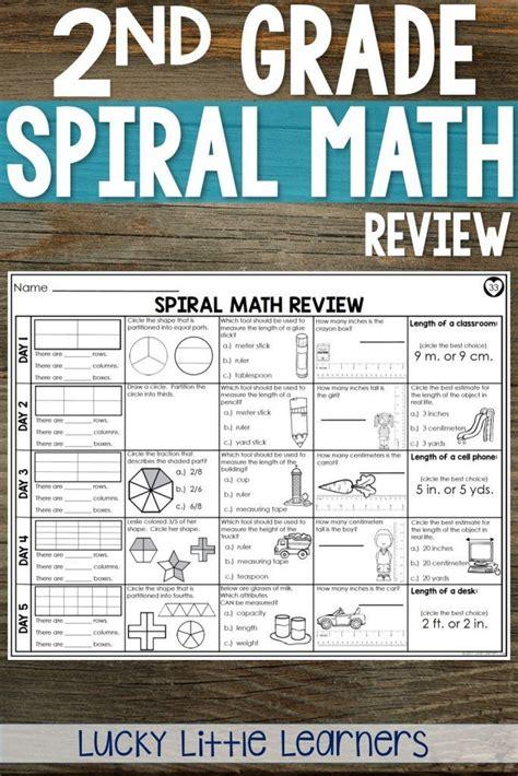 spiral math review  images spiral math math