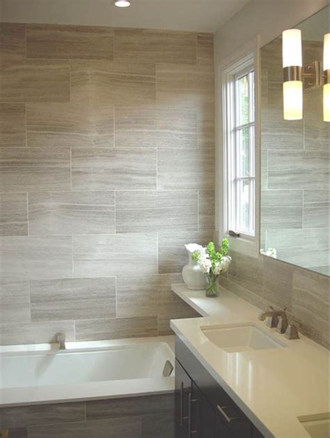 tiling bathroom ideas wood look tile for shower surround in upstairs bath