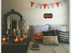 Autumnhalloweenbedroomdecor