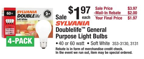 sylvania light bulbs a bright deal in your future