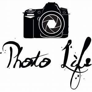 photo life photography vinyl decal home art decor quote With decal lettering stickers