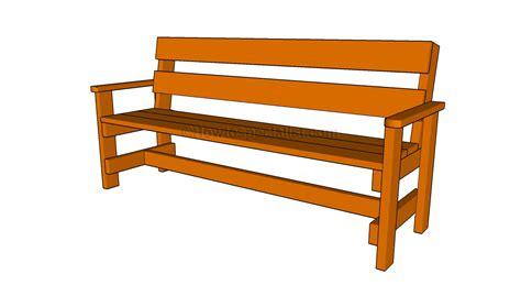 how to build a garden bench howtospecialist how to