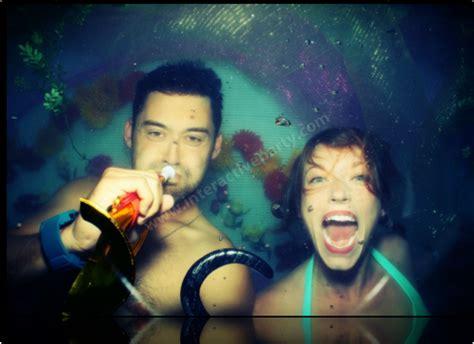 underwater photo booth