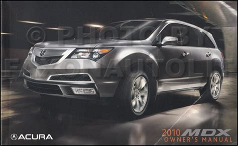 Acura Mdx 2010 Owners Manual  2017  2018 Best Cars Reviews