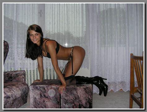 Cute petite teen in stocking   Nude Amateur Girls