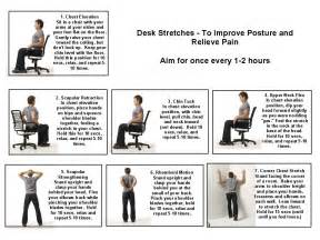 Stretches to Do at Your Office Desk