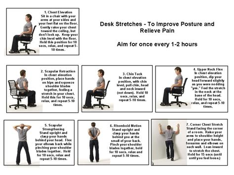 exercises to do at your desk with pictures office stretches to do at your desk hostgarcia