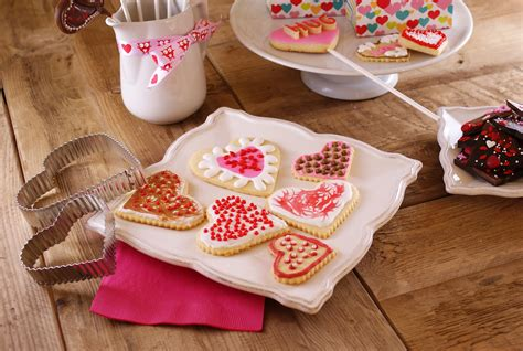 cuisine valentin s day cookies chocolate bark with hots