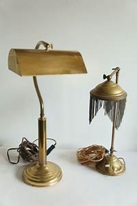 Lampe De Bureau Ancienne : ancienne lampe de table en laiton et lampe de bureau classique catawiki ~ Teatrodelosmanantiales.com Idées de Décoration