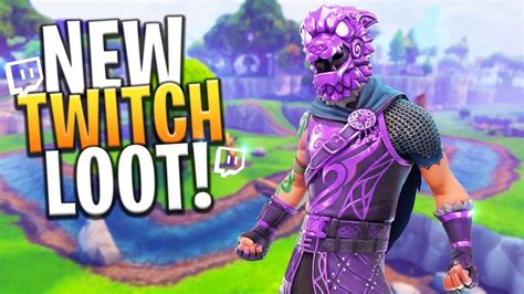 twitch prime  skins coming  fortnite