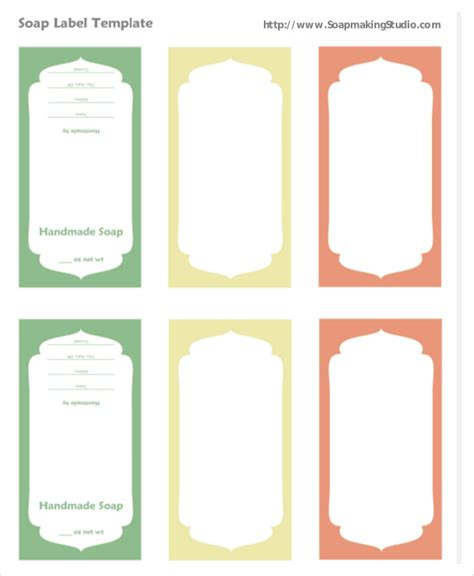 soap label templates label template 23 free word pdf psd documents free premium templates