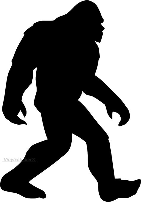Bigfoot Clipart Big Foot Clipart Icon Pencil And In Color Big Foot