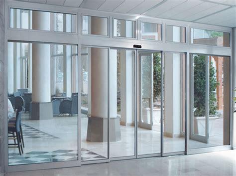 telescopic sliding doors power a door