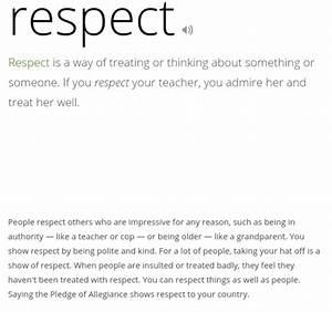 Respect Got7 | ... Respect Definition