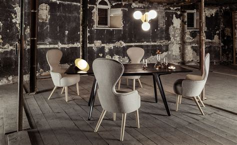 wingback dining chair hivemoderncom