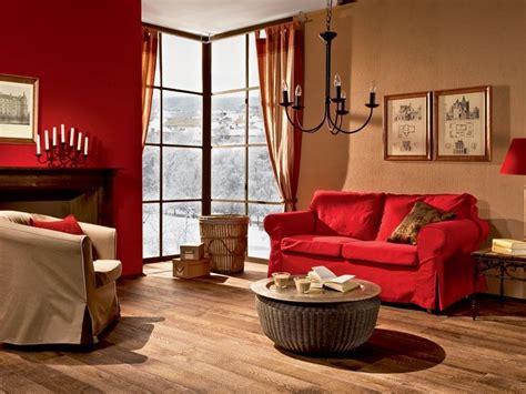 decoracion de sala roja deco en  pinturas