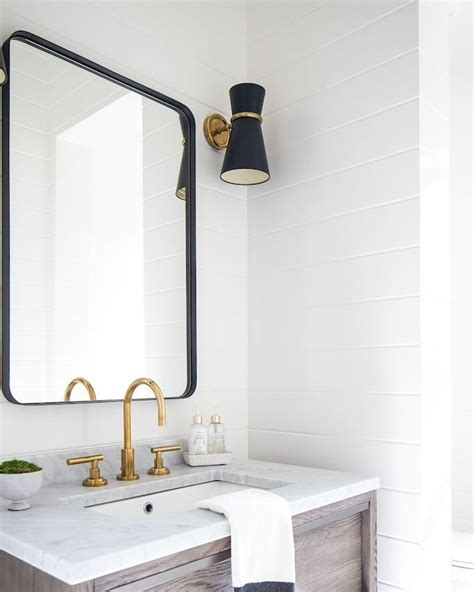 Bathroom Mirrors Black Frame by 20 Quot X 30 Quot Rounded Rectangle Metal Framed Mirror