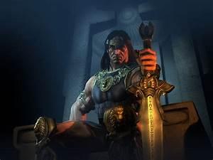 Throne Wallpapers,Age Of Conan: Hyborian Adventures ...