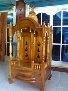 kerala style carpenter works and designs pooja room With pooja mandir for home designs