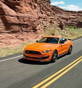 2018 Shelby GT350 in Orange Fury. | Sports car photos, Ford mustang, Mustang