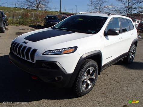 2014 Bright White Jeep Cherokee Trailhawk 4x4 87864813