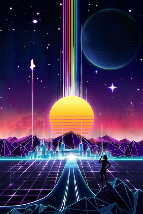 80s Neon Wallpaper Phone by Image Result For Synthwave Fashion Synthwave Retrowave