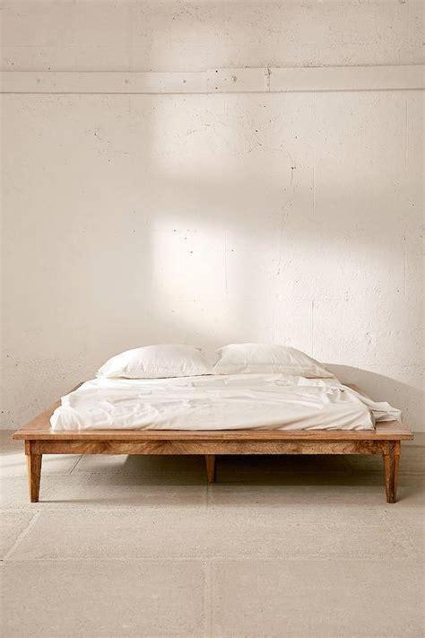 astoria turned leg platform bed