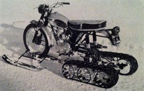 Motorcycle Half Track